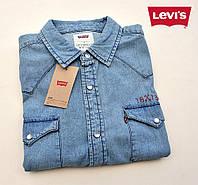 Мужская джинсовая рубашка Levi's®(США) (L) эксклюзивный дизайн/100% хлопок /Оригинал из США