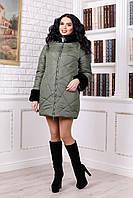 Куртка женская зимняя В-979 Лаке Тон 69