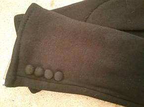 Женские перчатки зимние на флисе, фото 2