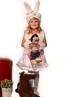 Детский карнавальный костюм Зайка