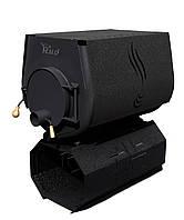 Отопительная конвекционная печь Rud Pyrotron Кантри 03 с варочной поверхностью Обшивка декоративная (черная)