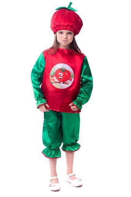 Детский карнавальный костюм Помидор, фото 1
