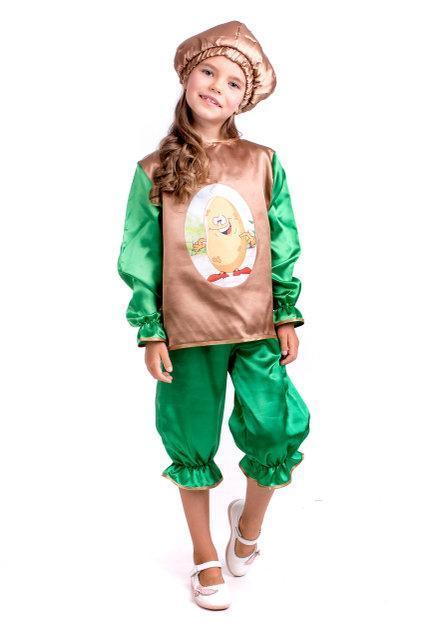 Детский Карнавальный костюм Картошка, фото 1
