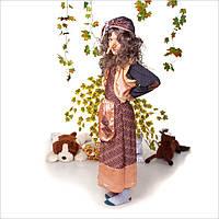 Детский карнавальный костюм Баба Яга с париком, фото 1
