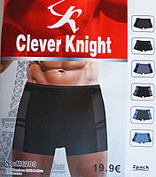 """Трусы мужские """"Clever Knight"""" (бамбук).В упаковке 2 шт."""