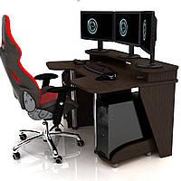Геймерский игровой стол Igrok-4 Венге (Zeus ТМ)