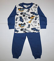 Детская пижама для мальчика от 5 до 8 лет.