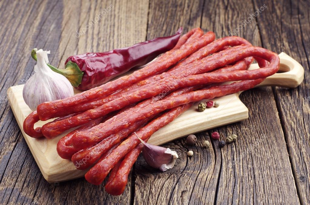 Кабаносси Cabanossi Classic füstölt снековая колбаса /500г.упаковка/ Венгрия