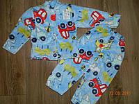 Махровая пижама для мальчика на рост 92 см