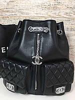 Трендовый рюкзак  CHANEL MOUNTAIN BACKPACK (реплика), фото 1