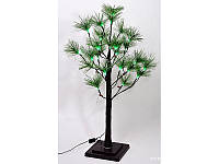 Светящееся дерево, 24 LED (зелёные), постоянное свечение