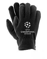 Зимние перчатки флис Лига Чемпионов