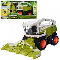 Игрушка Limo Toy Комбайн M 0343 U/R Помощник фермера
