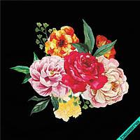 Декор на портфели Цветы [7 размеров в ассортименте]
