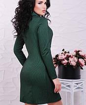 Трикотажное двубортное платье (Abby fup), фото 2