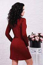 Трикотажное двубортное платье (Abby fup), фото 3