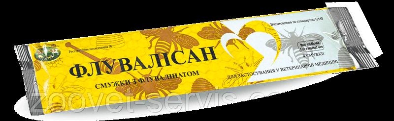 Полоски от варроатоза Флувалисан, упаковка 4 полоски, фото 2