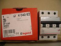 Legrand Автомат. выключатель TXC63А-3Полюса 6 кА
