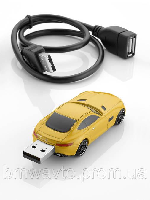 Флешка Mercedes-Benz USB stick AMG GT, AMG solarbeam,16GB, фото 2