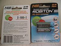Аккумулятор Robiton AA,R6, 2400mAh(ENELOOP) 2штуки