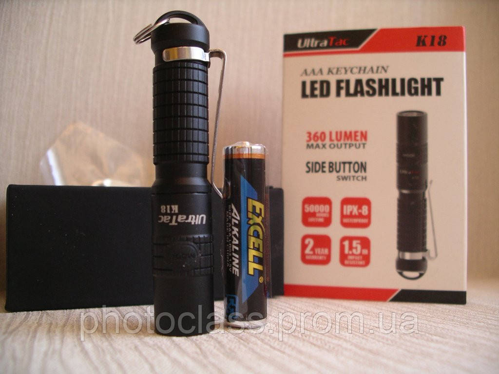 Фонарь Ultratac K18 Cree XP-G2 S2 LED 110-360lm