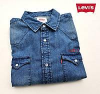 Мужская джинсовая рубашка Levi's®(США) (M) эксклюзивный дизайн/100% хлопок /Оригинал из США