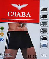 """Трусы мужские """"Слава"""" (бамбук).В упаковке 6 шт."""