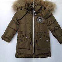 Куртка детская зимняя оптом 3-7 лет, фото 1