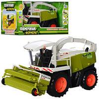 Игрушка Limo Toy Комбайн M 0344 U/R Помощник фермера