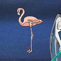 Переводки на челочно-носочные изделия термо Фламинго [7 размеров в ассортименте]