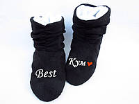 """Тапочки ботинки """"Лучший кум"""""""