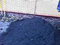 Машина чернозема,торфяной грунт под газоны