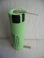 Аккумулятор с выводами U-tags Li-ion PanasonicNCR18650PF 2900mAh, фото 1