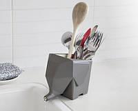 Сушилка для столовых приборов Слон (Серый)