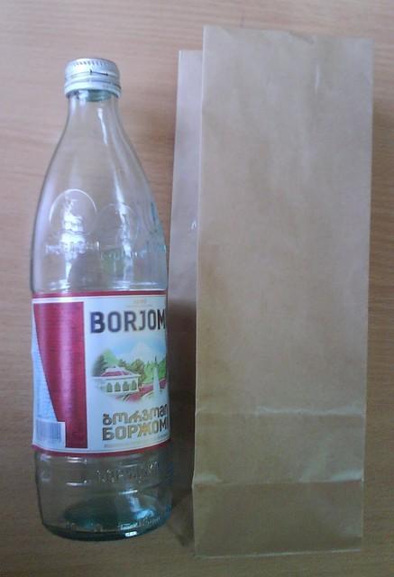Пакеты для пива бумажные, под бутылку