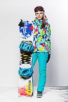 Куртка гірськолижна HXP75316.Розміри:44,46,48