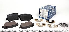 Колодки тормозные задние Volkswagen Caddy / Кадди / Октавия  2004 Германия MEYLE 0252391417 система (Lucas)