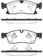 Тормозные колодки передние ROADHOUSE MERCEDES-BENZ  RH 21430.10