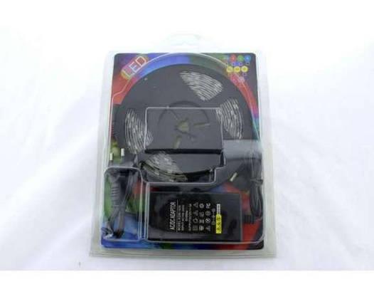 Лента светодиодная 5 метров RGB 5050 - 7 цветов комплект