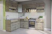 Кухня Алина угол 1,7*2,5м ДСП Св.Меб, фото 1