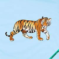 Термоперевод на блузы Тигр [7 размеров в ассортименте]