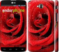 """Чехол на LG G Pro Lite Dual D686 Красная роза """"529c-440-4074"""""""