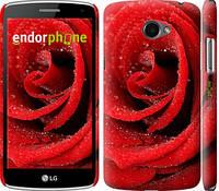 "Чехол на LG K5 X220 Красная роза ""529c-457-4074"""