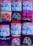 Детские махровые колготки для девочки Кошечка Мини 82-164см.