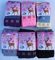 Детские термоколготки для девочки Снежинки 82-164см.