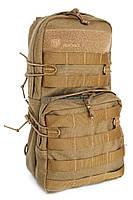 Тактичний одноденний рюкзак на 8л (однотон) Hf
