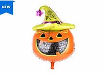 Шар надувной хэллоуин Тыква, 100х70 см К