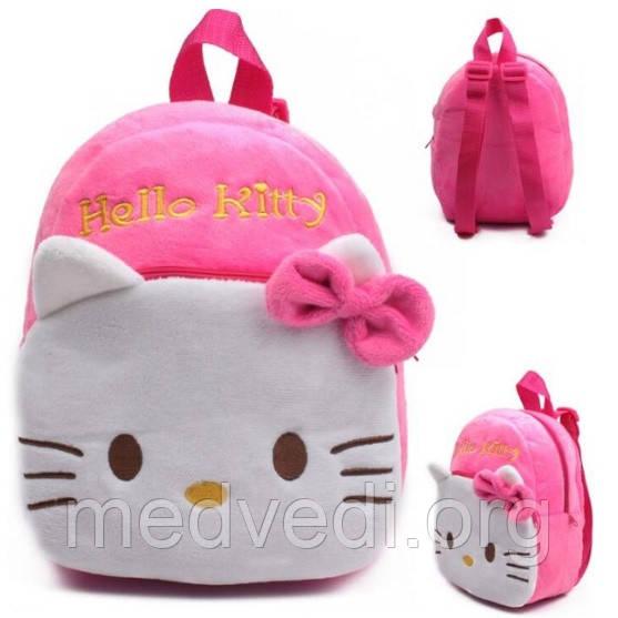 Детский мягкий рюкзак Hello Kitty для девочек