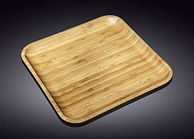 Блюдо Wilmax Bamboo WL-771026 33*33см квадратное