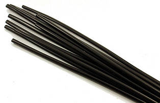 Термоусадка RSFR-105, 14/7,0мм, чёрная, 1метр